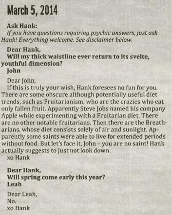Hank_advice columns